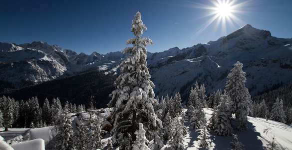 Winter in Garmisch