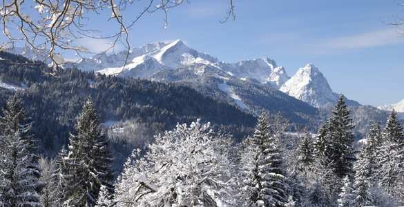 Garmisch im Winter